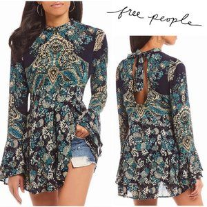 Free People Bell Sleeve Blouse XS
